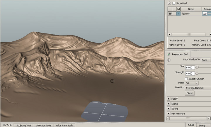 CGArena : Create Displacement Maps using Max, Mental ray and