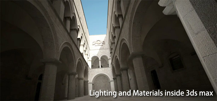 Lighting and Materials inside 3ds max & Vray - (Video Tutorials) Header