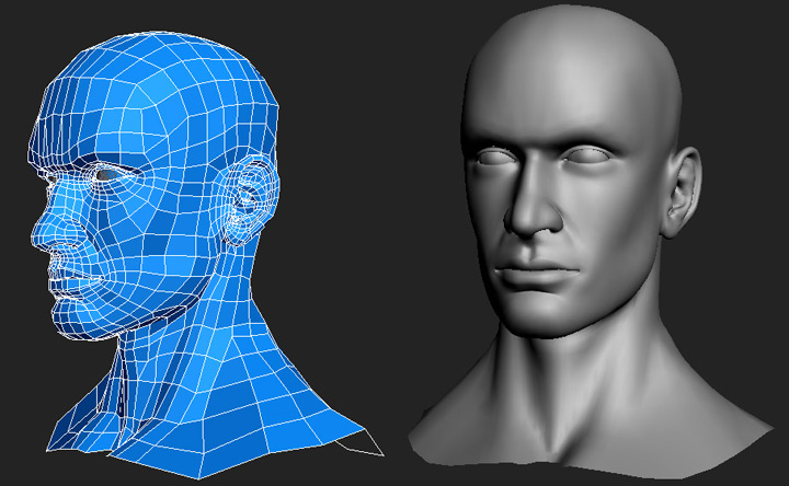 Cgarena Head Modeling In 3ds Max