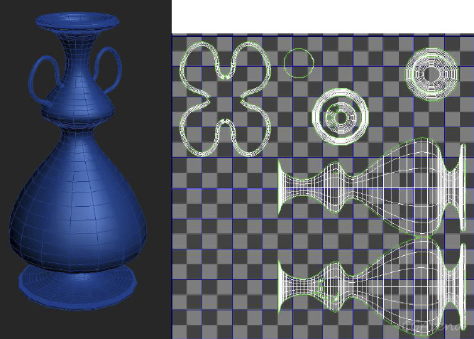3DS MAX Materials Mapping Procedures: 3ds max to ZBrush and ZBrush to
