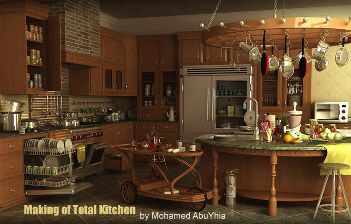 CGArena : Making of Total Kitchen