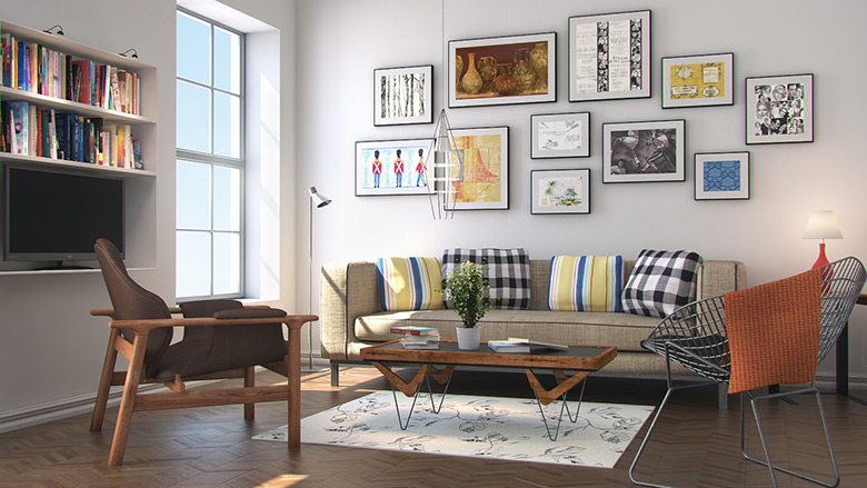 Night interior rendering tutorial (using vray and 3d max).
