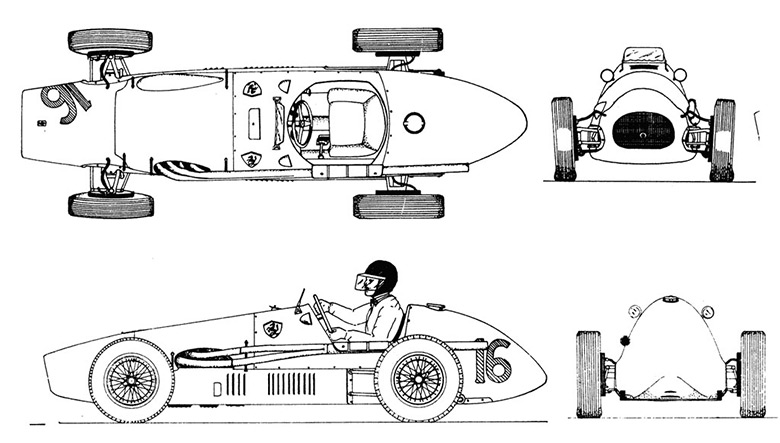 Making of ferrari f2 500 blueprint malvernweather Image collections