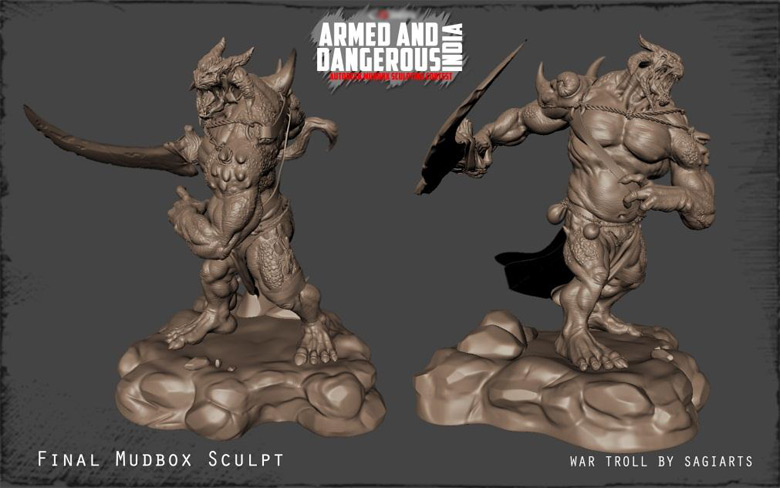 Making of The War Troll - Page 2