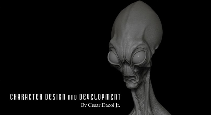 Character Design And Development : Character design and development in zbrush