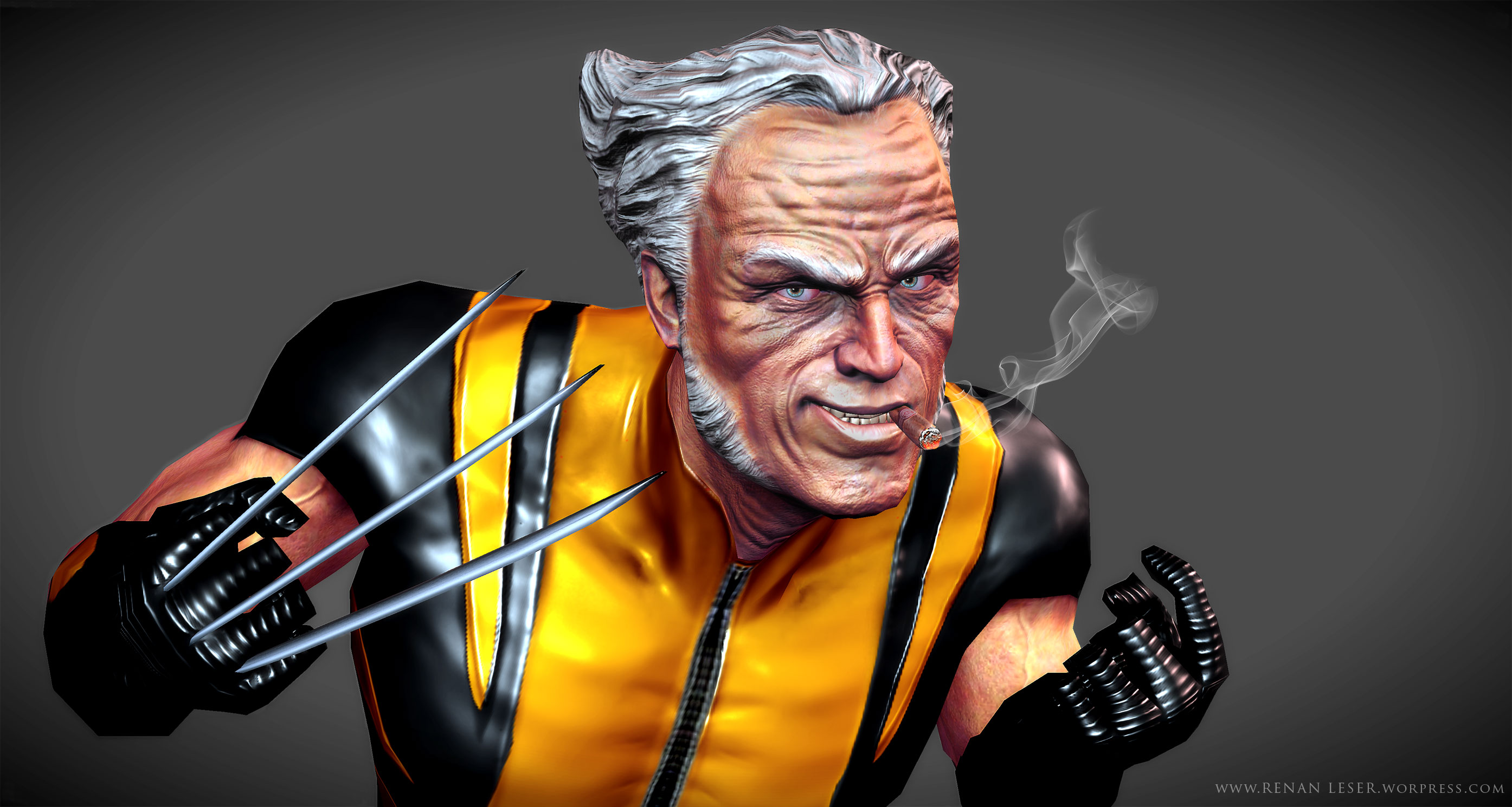 Wolverine Old Man