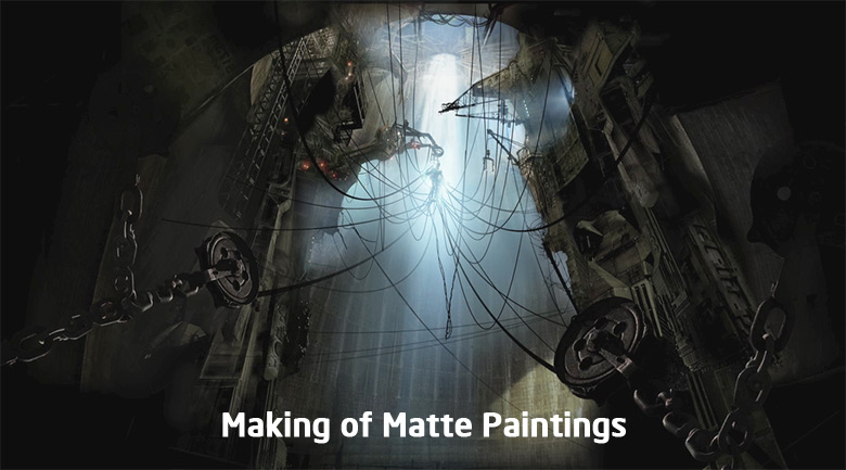 making of matte painting
