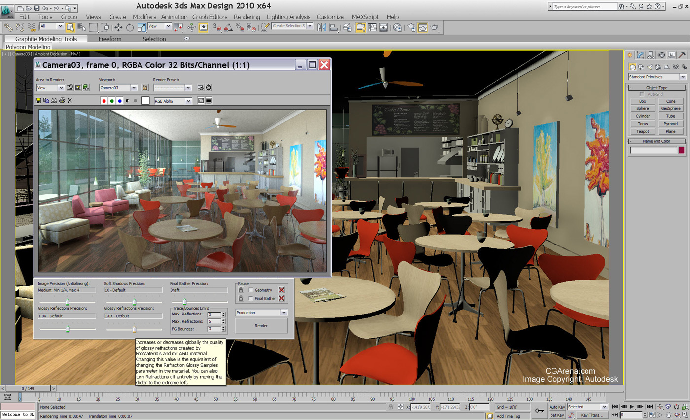 Autodesk introduces 3ds max 2010 for 3ds max design