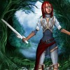 Joan of Arc in the woods