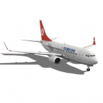 Turkish Airlines Boeing 737-700w