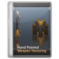 Hand Painted Weapon Texturing