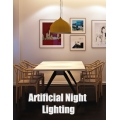 Artificial Night Lighting Interior Scene + PDF Tutorial