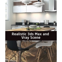 Realistic Max & Vray Scene with tutorial
