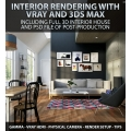 Interior Rendering with Vray & 3ds Max