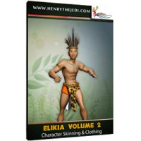Elikia 3D Character Skinning and Clothing - Vol 2
