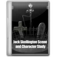 Jack Skellington Scene and Character Study