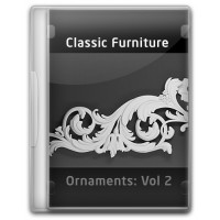 Classic Furniture - Ornaments - Vol 2