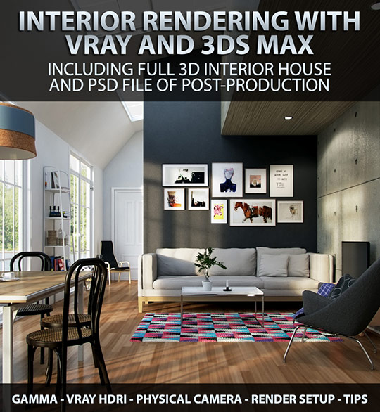 Interior Rendering With Vray 3ds Max