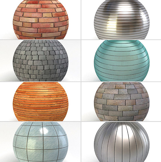 Construction Materials V2 For 3ds Max & Vray